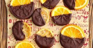 Лимоны и апельсины в шоколаде