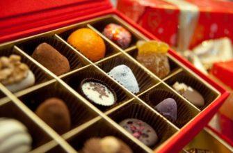 лучшие шоколадные конфеты