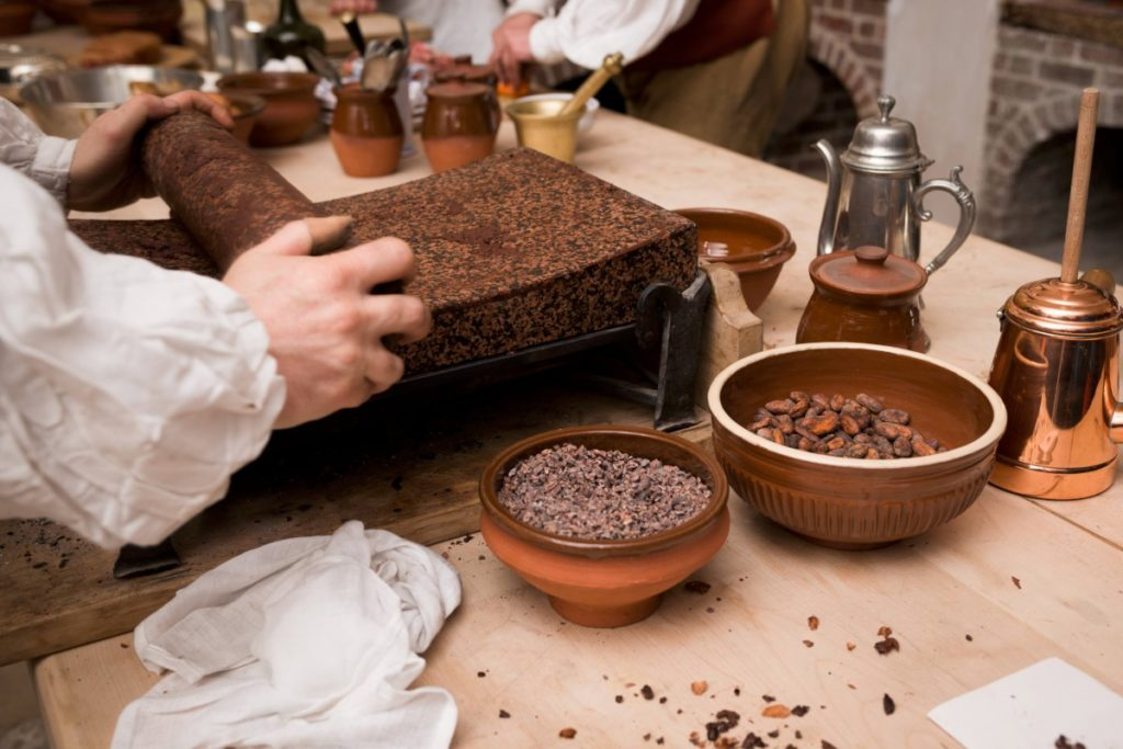 развитие шоколада