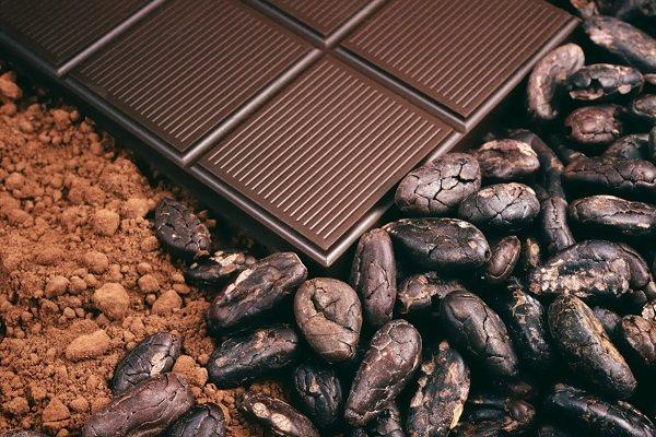 Содержание горького шоколада