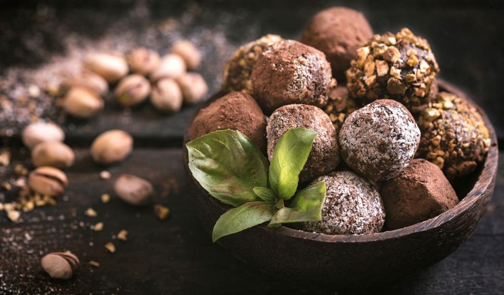 Мятно-шоколадный трюфель от Гордона Рамзи