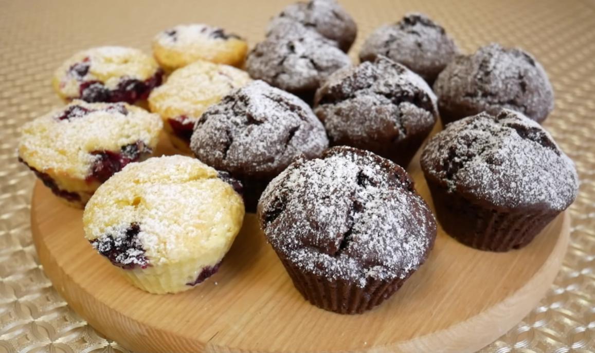 Рецепты самых вкусных шоколадных маффинов